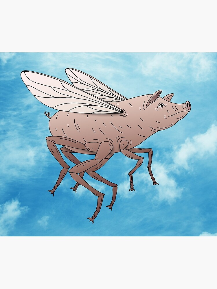 Pig Fly by bekome