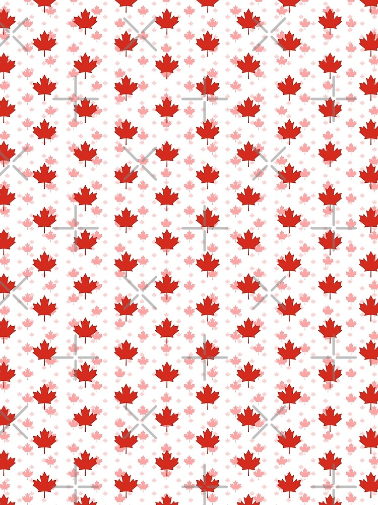 Canada Day - Maple Leaf Pattern by RoufXis