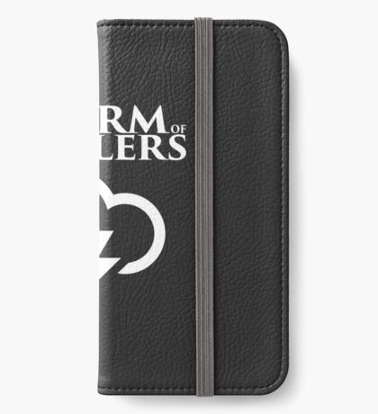A Storm of Spoilers Logo iPhone Wallet