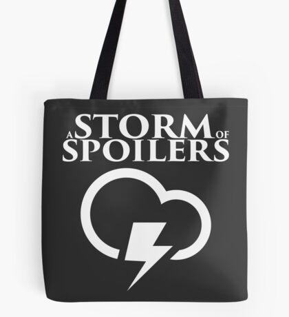 A Storm of Spoilers Logo Tote Bag