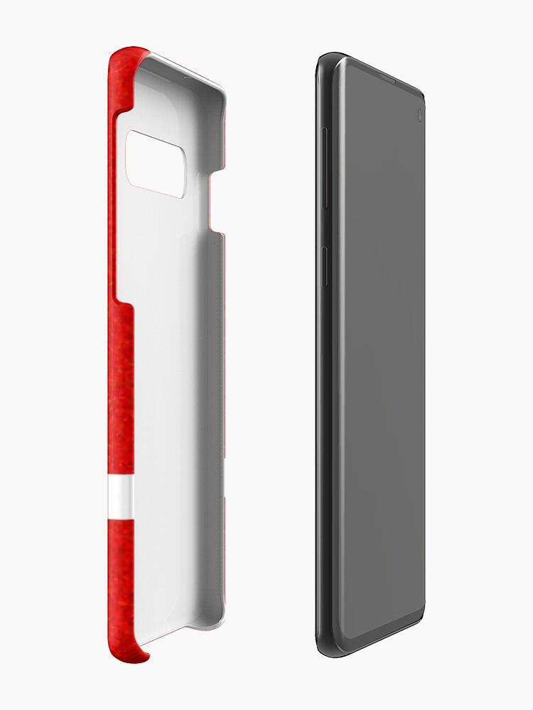 """Alternative Ansicht von """"IN"""" - Falkenauge - Sand Hüllen & Klebefolien für Samsung Galaxy"""