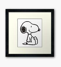 Snoopy! Framed Print