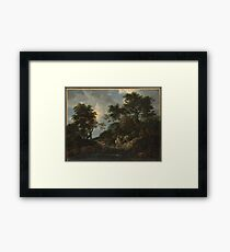 The Forest Stream Framed Print