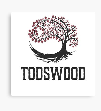 TODSWOOD Canvas Print