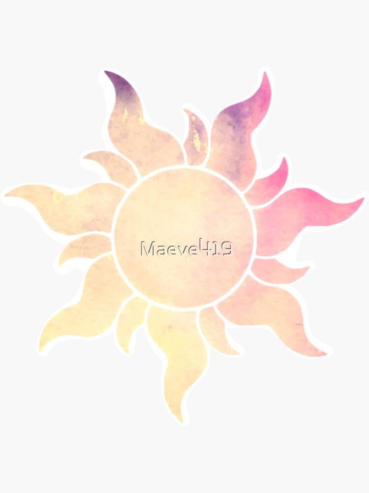 Yellow to Pink Sun by Maeve419