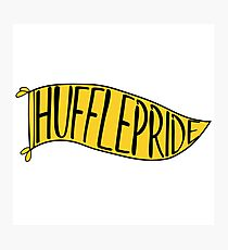 Hufflepride Banner Photographic Print