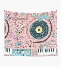 Tela decorativa La vida es un mixtape