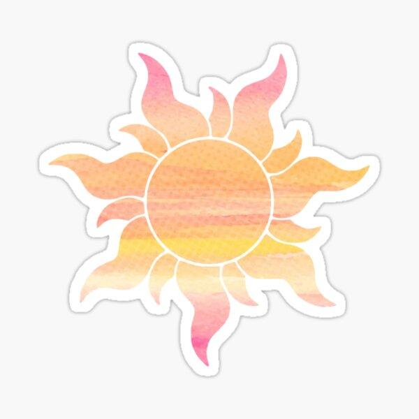 Sunrise Flower Sticker