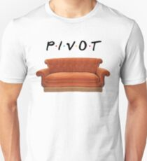 Friends Pivot Quote and Couch Unisex T-Shirt