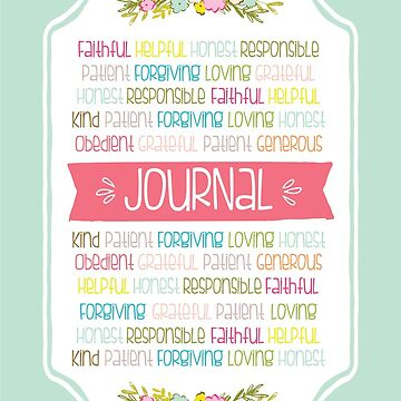 Virtues Journal  by greenoriginals