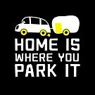 HOME is where you park it (camper caravan) by jazzydevil