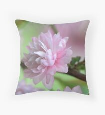 Precious Pink Throw Pillow