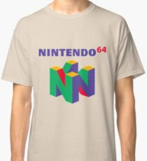 Nintendo 64 Retro-Logo Classic T-Shirt