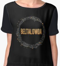 The Expanse - Beltalowda Belt Graphic Chiffon Top