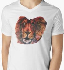 Ed Sheeran Lion Men's V-Neck T-Shirt