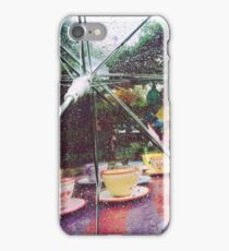Rainy Mad Tea Party iPhone Case/Skin