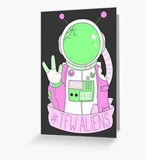 space...man? Greeting Card