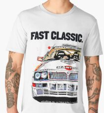 Classic Lancia Delta art racing Men's Premium T-Shirt