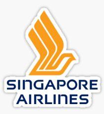 Singapore Airlines Logo Sticker