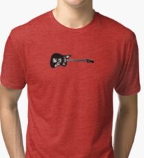 Vintage Electric Guitar Tri-blend T-Shirt