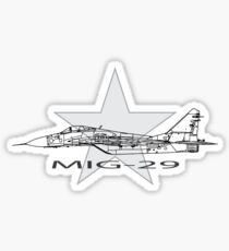 MIG-29 Soviet Fighter Sticker