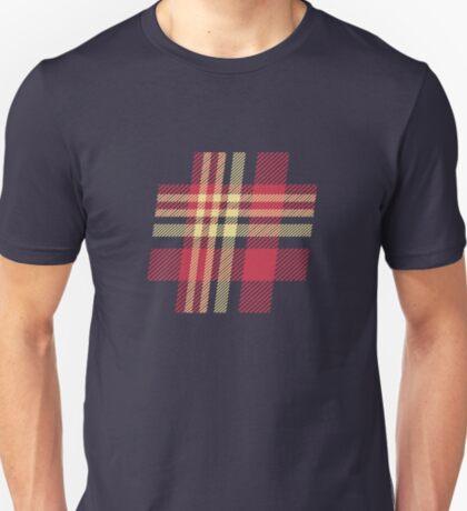 Plaid Hashtag T-Shirt