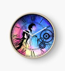 Steins;Gate Loving mix colors Clock