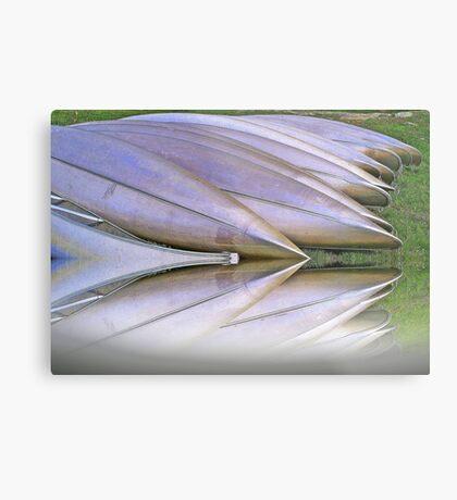 Canoes  Ready                           Metal Print