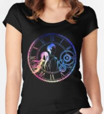 Steins;Gate Loving mix colors Women's Fitted Scoop T-Shirt