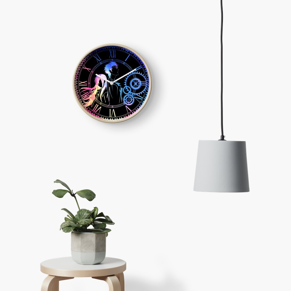 Steins;Gate Loving mix colors Clock