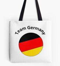 Team Germany Tote Bag