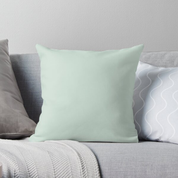 Just Mint Throw Pillow