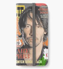 Keanu Reeves - Cover Tele Magazine Russia (by ACCI) iPhone Wallet/Case/Skin