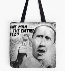 Barack Save World? Tote Bag