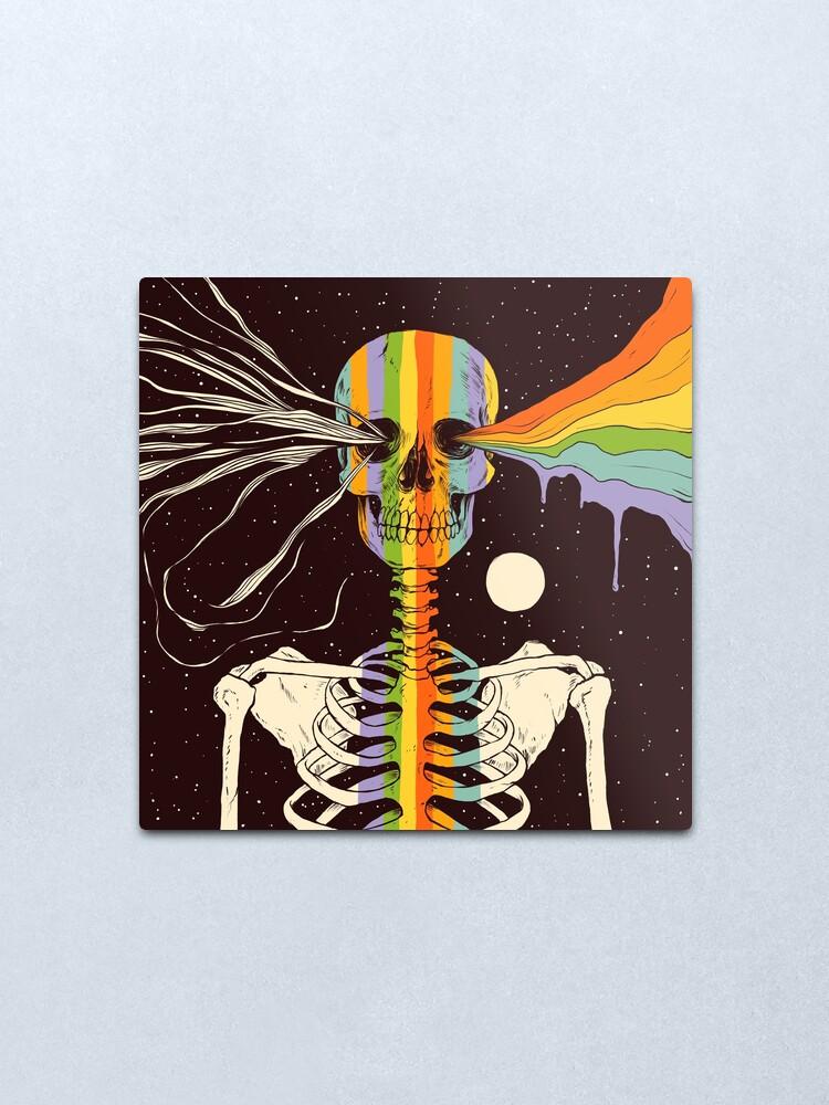 Alternate view of Dark Side of Existence Metal Print