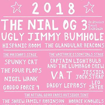 SPONGFEST 2018 - Official festival poster by stevexoh