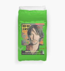 Keanu Reeves - Cover Tele Magazine Russia (by ACCI) Duvet Cover
