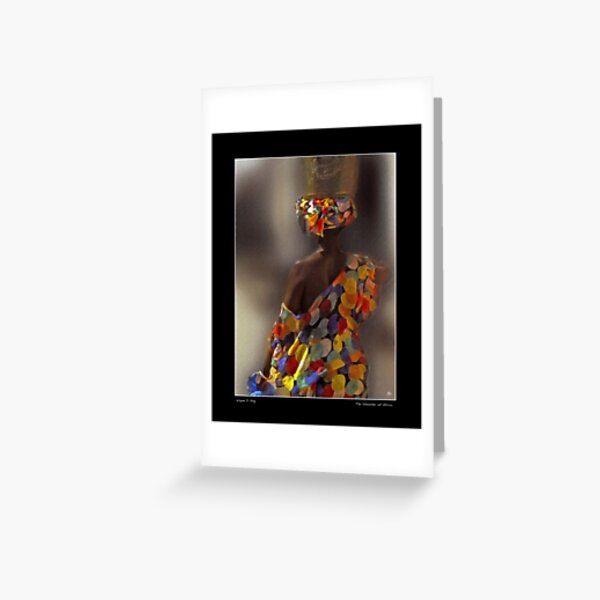 The Shoulder of Africa Poster Greeting Card