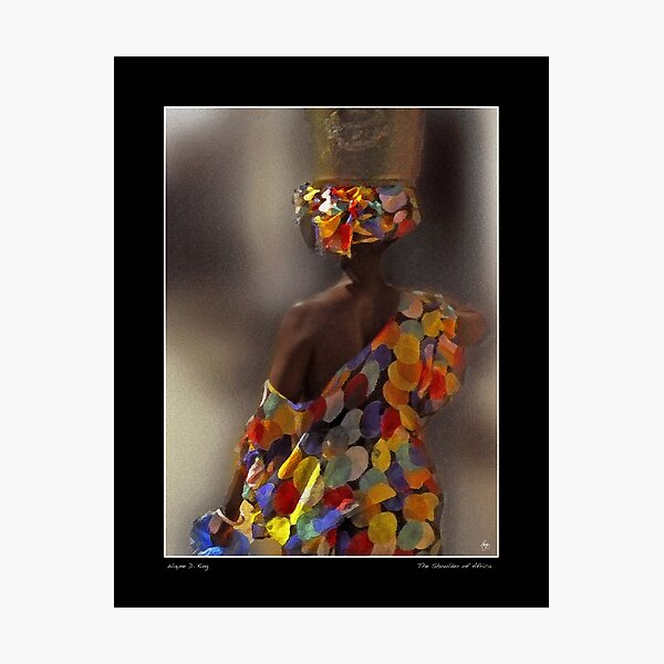 The Shoulder of Africa Poster Photographic Print