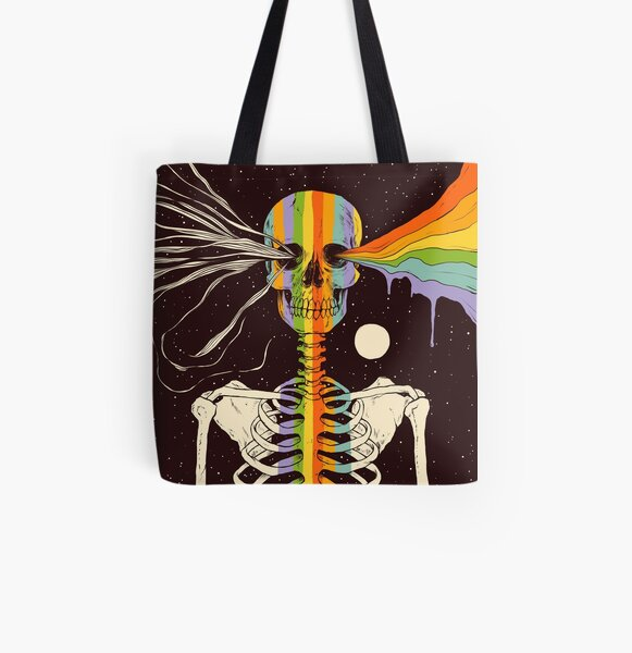 Dark Side of Existence All Over Print Tote Bag