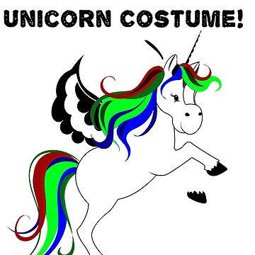 This is my lazy unicorn costume2 by KaylinArt