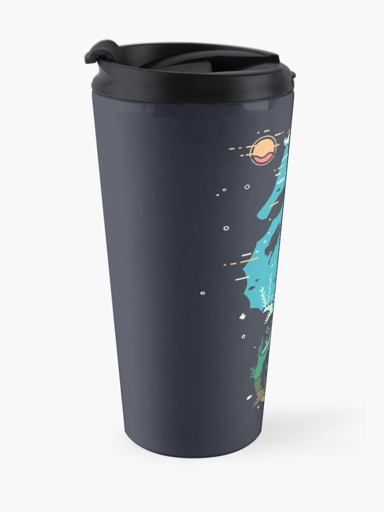 Alternate view of Underwater Travel Mug