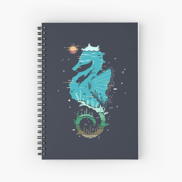 Underwater Spiral Notebook
