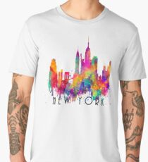 New York Men's Premium T-Shirt