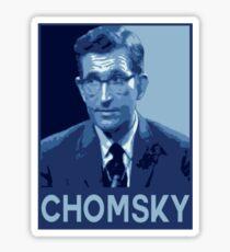 Chomsky Pop-Art Sticker