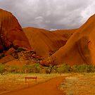 Uluru III by Louise Fahy