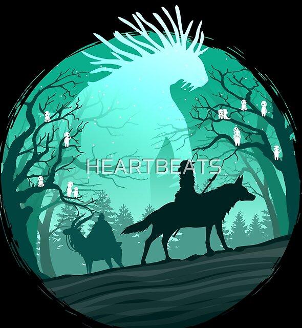 Mononoke Hime by HEARTBEATS