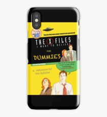 The X Files for dummies by Mimie iPhone Case
