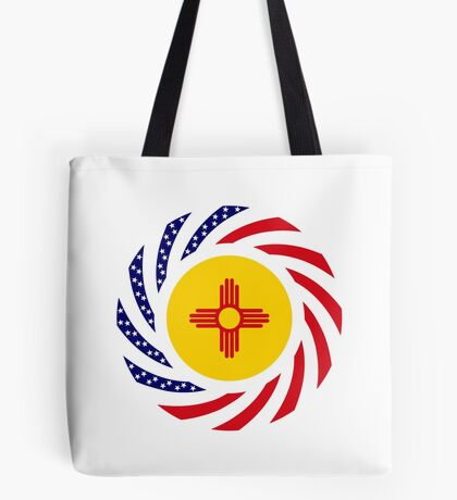 New Mexican Murican Patriot Flag Series Tote Bag