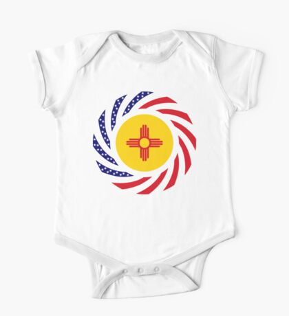 New Mexican Murican Patriot Flag Series Kids Clothes